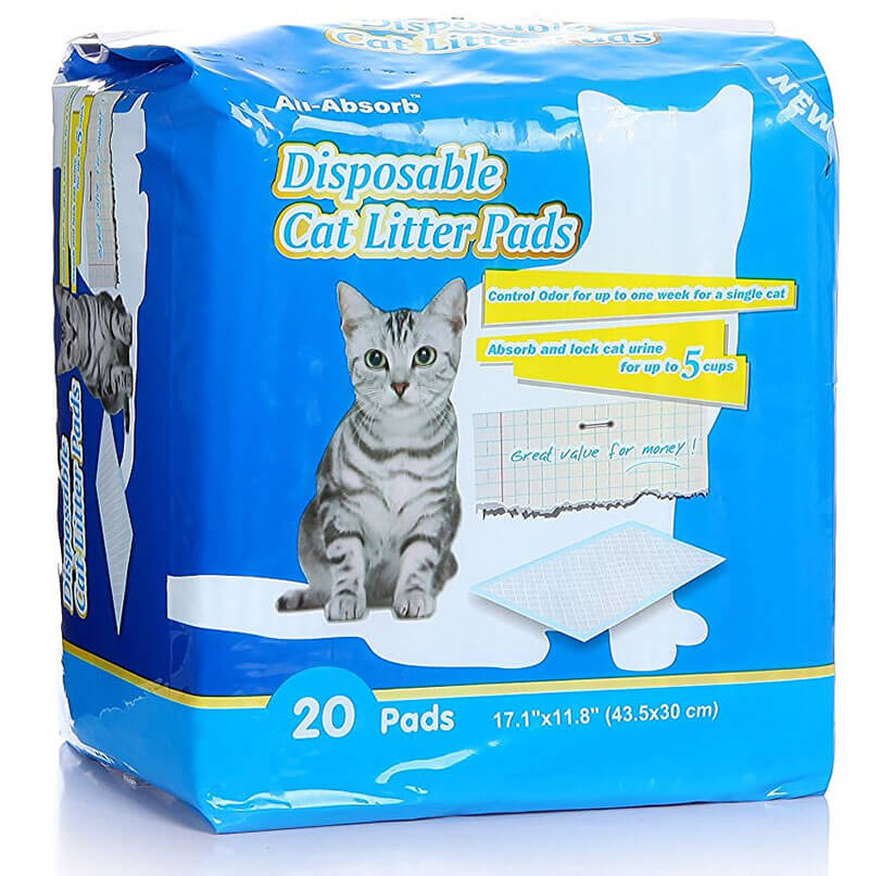 Buy All-Absorb Cat Litter Pads via Amazon