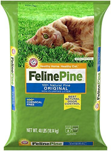Feline Pine Original Litter; Chemical Free and Safe for your Cat