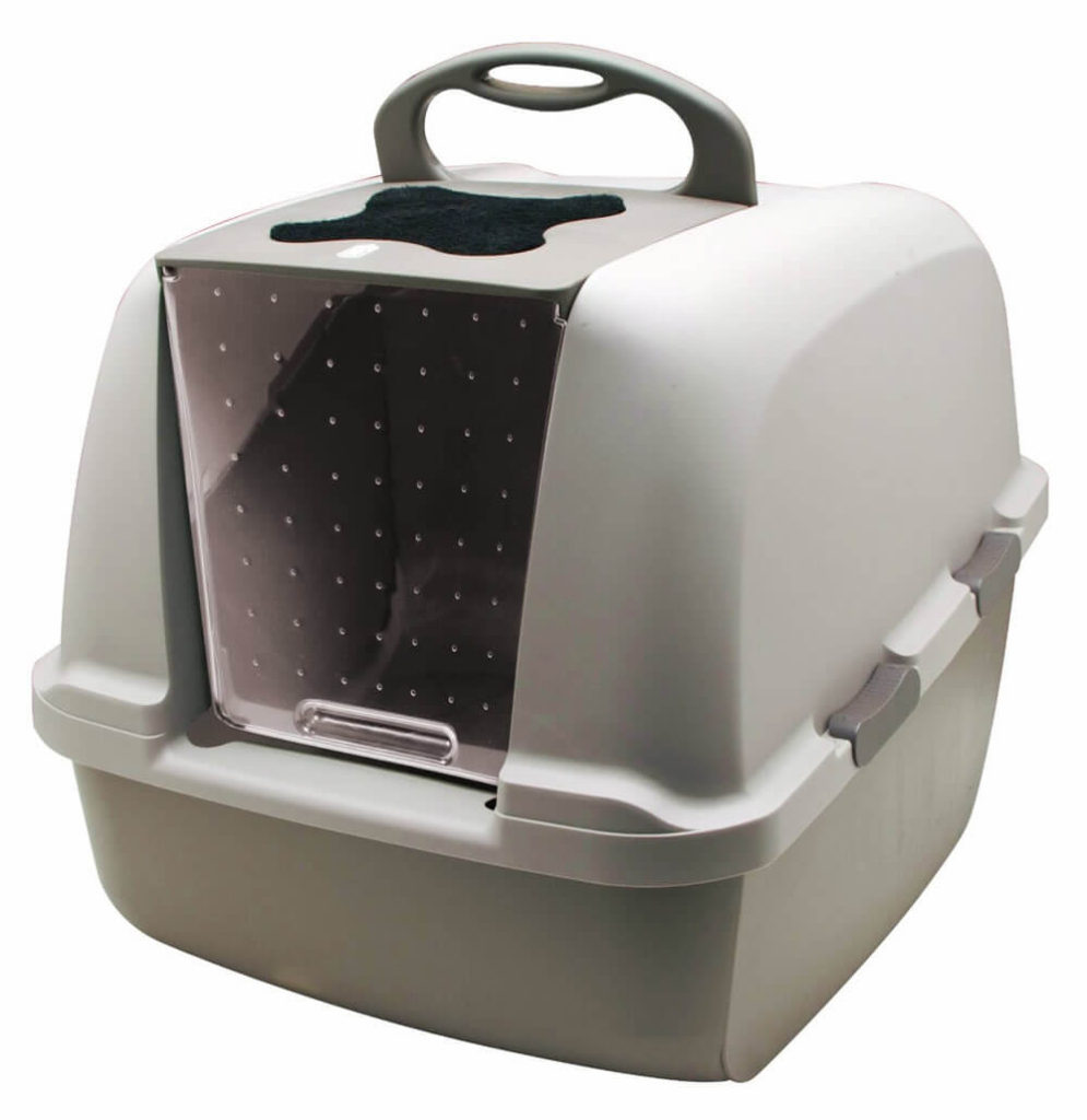 Buy Hagen CatIt Hooded Cat Litter Box via Amazon