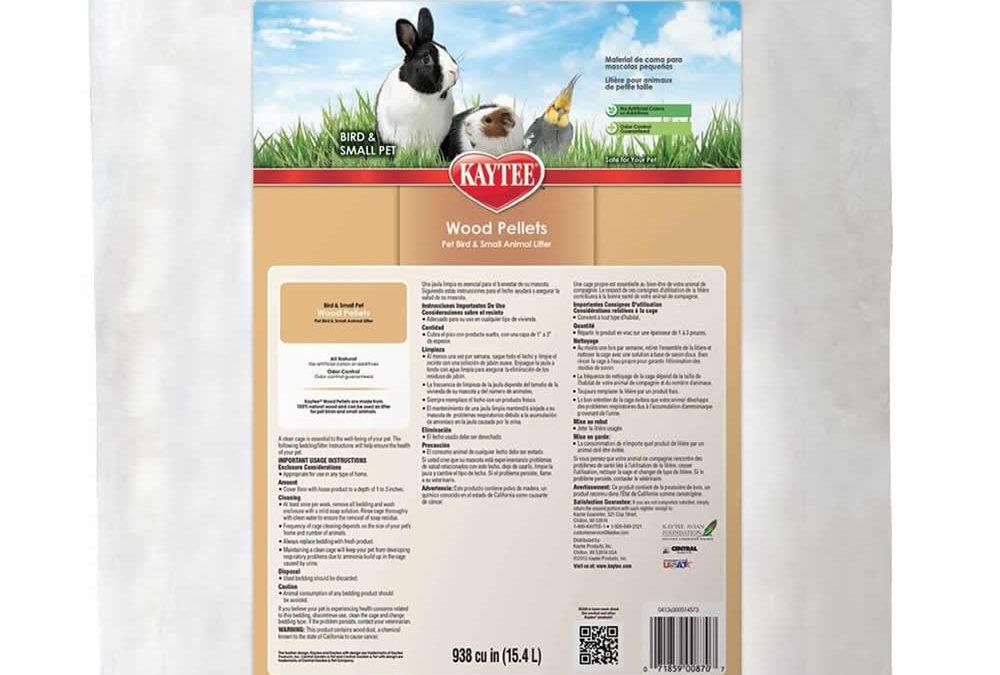 Kaytee Wood Pellets Pet Litter & Bedding