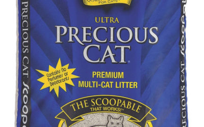 Ultra Premium Clumping Cat Litter; Best Dust Free Cat Litter