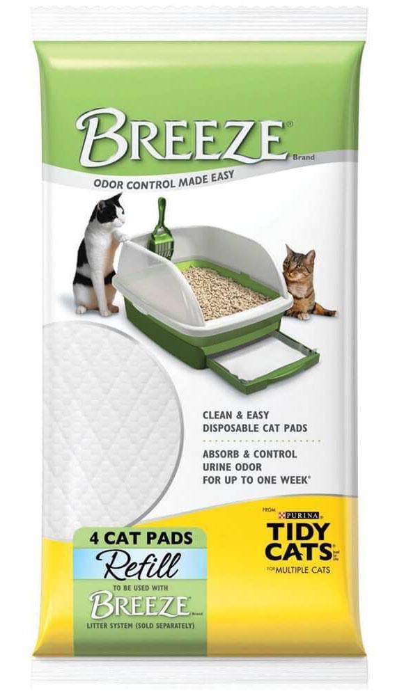 Buy Breeze Tidy Cat Litter Pads via Amazon