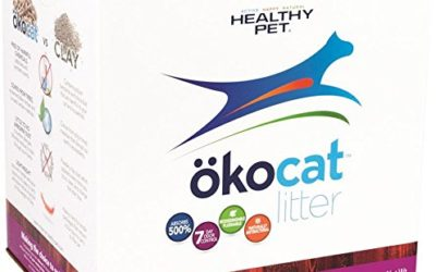 okocat Natural Wood Kitty Litter Pellets