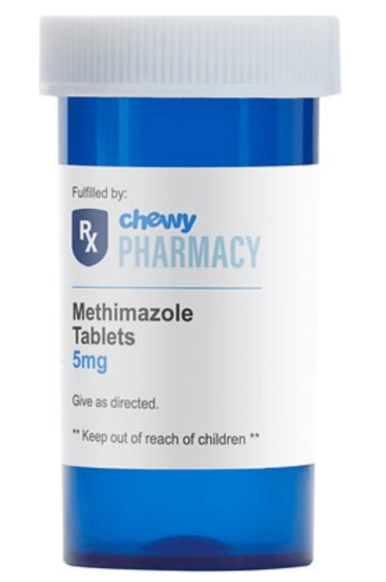 Methimazole Generic Tablets for Cats