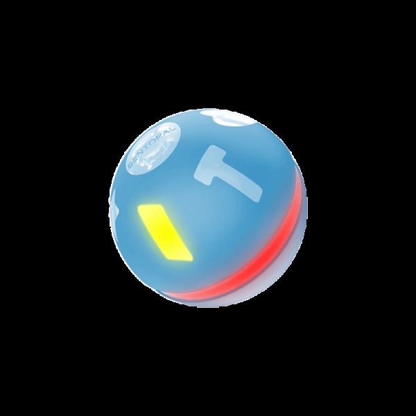 blue jumping ball