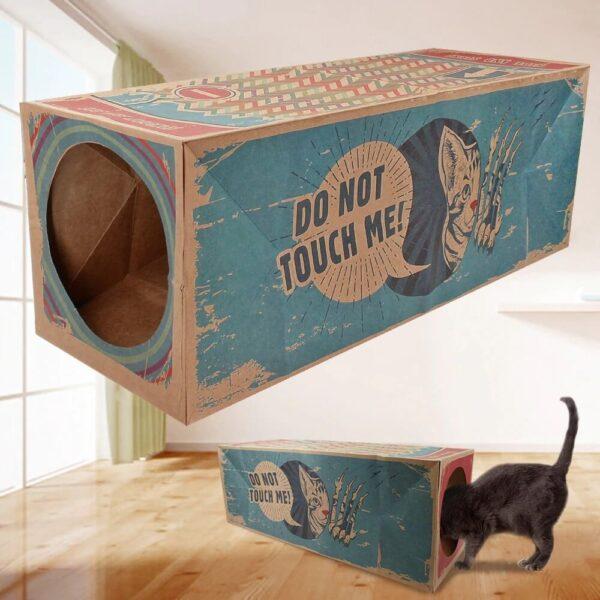 cardboard cat house