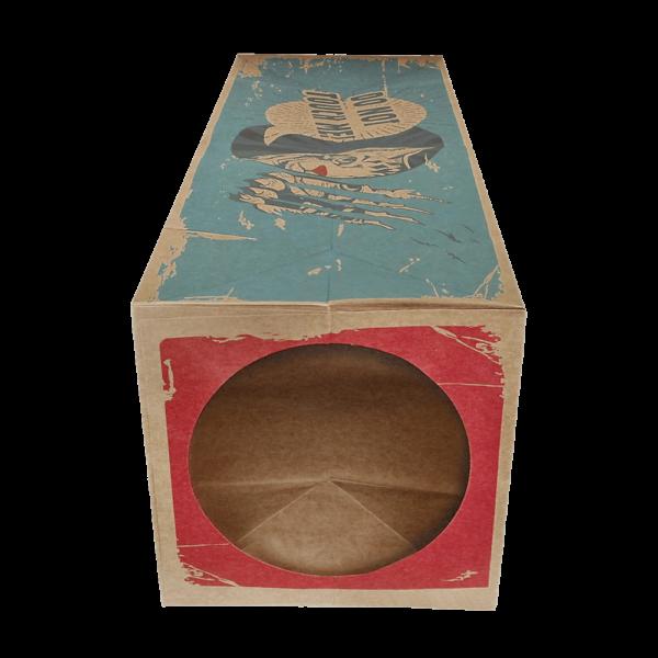 cardboard cat tunnel