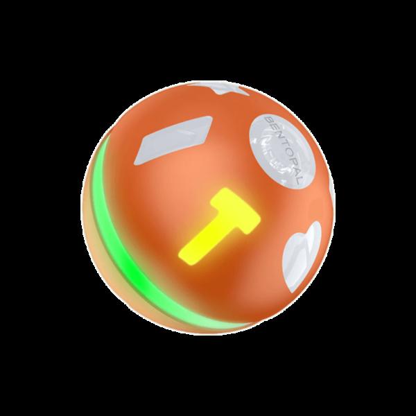 orange jumping ball