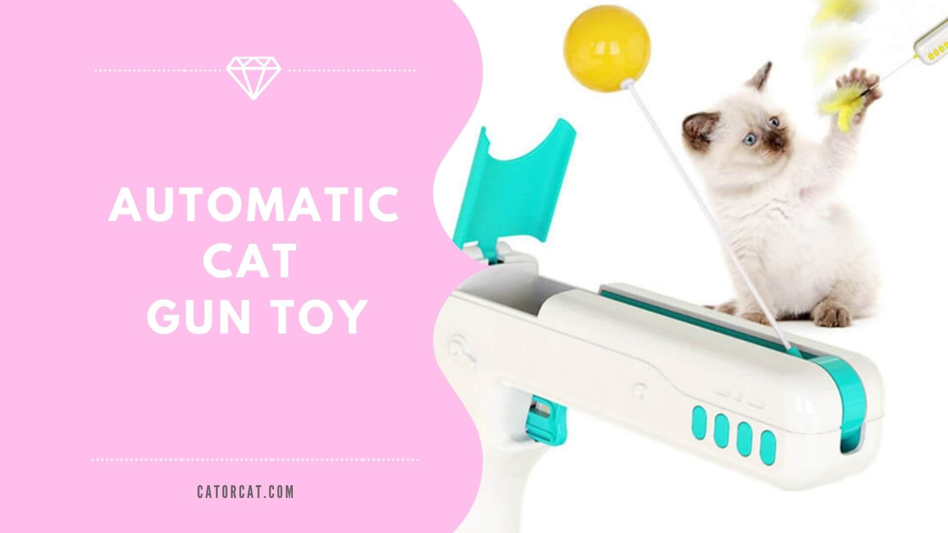 best automatic cat gun toy