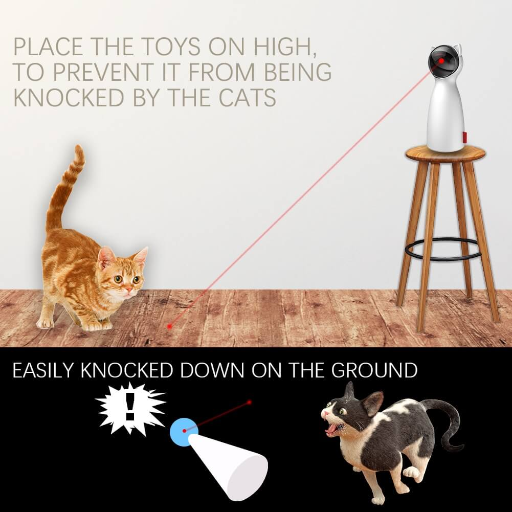 cat automatic laser pointer